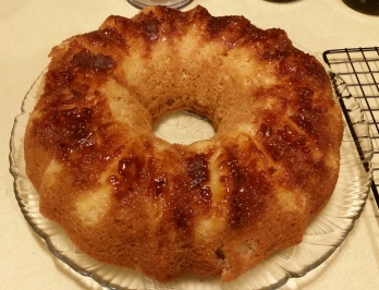 Pinapple Upside Down Cake Doubled