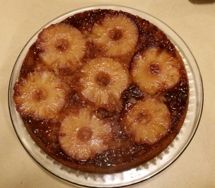 Pineapple Upside Down Cake 2